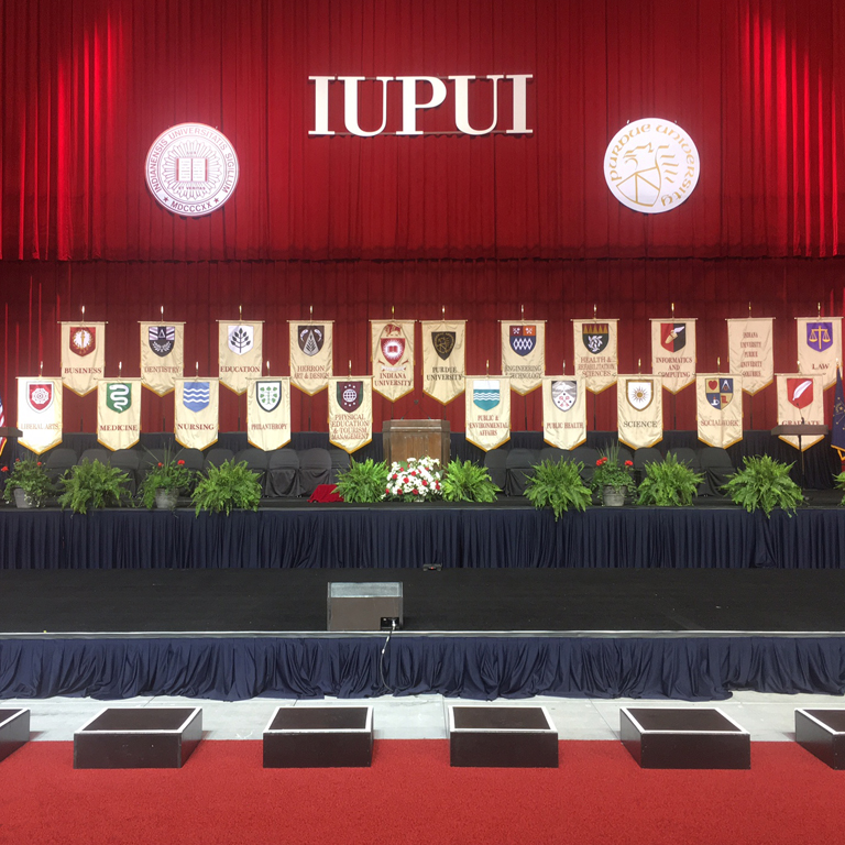 IUPUI Commencement at Lucas Oil Stadium